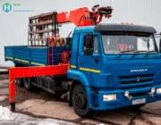 Аренда манипулятора КАМАЗ 10 тонн