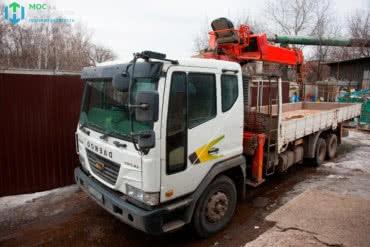 Аренда манипулятора DAEWOO NOVUS 10 тонн
