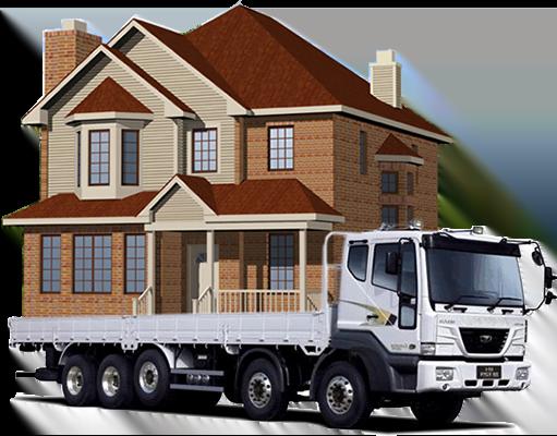 Услуги по перевозке домов манипулятором