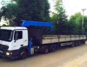 Аренда манипулятора MERCEDES ACTROS 20 тонн