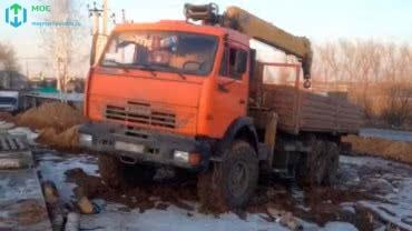 Аренда манипулятора КАМАЗ 8 тонн