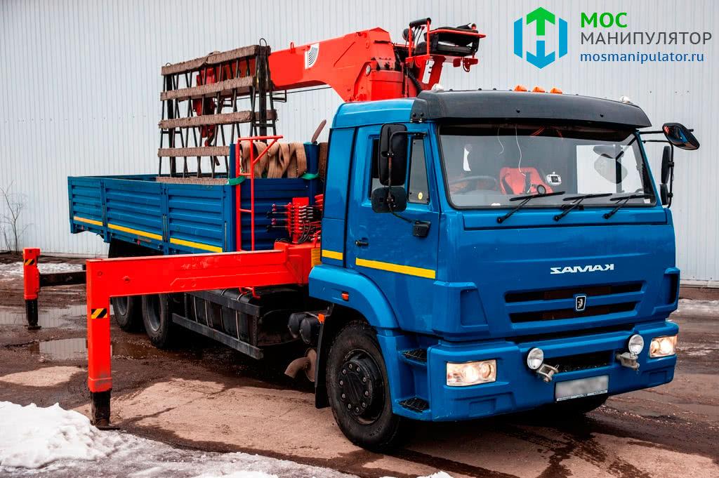 КАМАЗ - 3 | Аренда манипулятора КАМАЗ 10 тонн