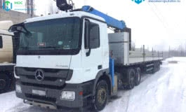Mercedes Actros – 20т.